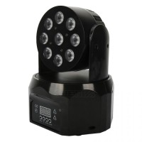LED Wash 9x8W RGBW Moving Head