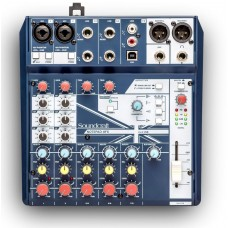 Микшер SOUNDCRAFT NOTEPAD-8FX