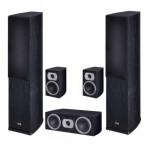 Комплект акустики Heco Victa Prime 502 Set 5.0 black